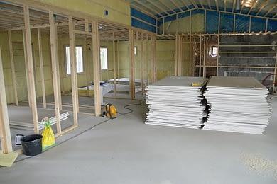 Reģipša sienas montāža